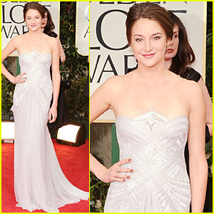 Shailene Woodley - Golden Globes 2012 Red Carpet