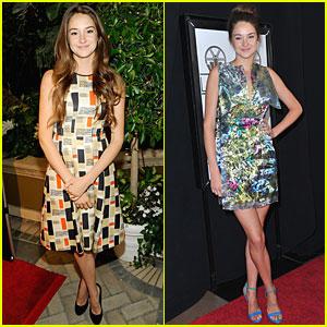 Shailene Woodley: Pre-Golden Globes Events!