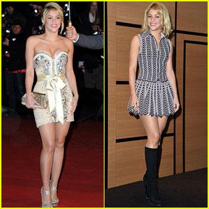 Shakira: NRJ Awards & Ministry of Culture Ceremony!