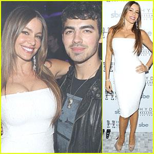 Sofia Vergara & Joe Jonas: Bellagio for New Year's Eve!
