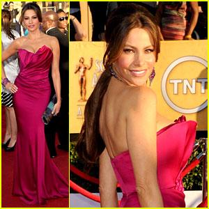 Sofia Vergara - SAG Awards 2012 Red Carpet
