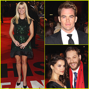 Reese Witherspoon: 'This Means War' UK Premiere with Chris Pine & Tom Hardy!