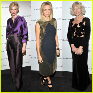 Tilda Swinton & Naomi Watts: NBR Awards Gala!