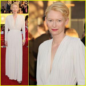 Tilda Swinton - SAG Awards 2012 Red Carpet