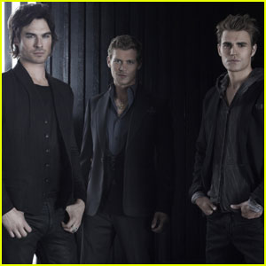 Ian Somerhalder: New 'Vampire Diaries' Photos!