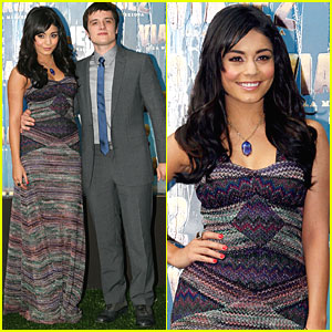 Vanessa Hudgens: 'Journey 2' Premiere in Mexico!