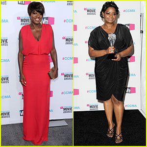 Viola Davis & Octavia Spencer - Critics' Choice Awards 2012