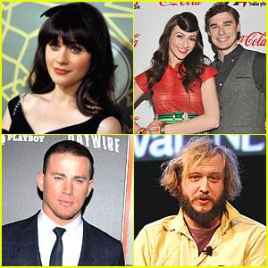 Zooey Deschanel & Channing Tatum: SNL's February Hosts!