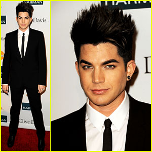Adam Lambert: Clive Davis Pre-Grammy Gala