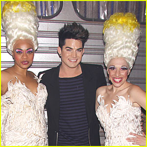 Adam Lambert: 'Priscilla' Backstage Pics!