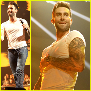 Adam Levine: Super Bowl Fan Jam with Gym Class Heroes!