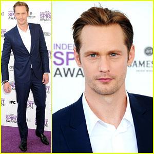 Alexander Skarsgard - Spirit Awards 2012 Red Carpet