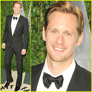 Alexander Skarsgard - Vanity Fair Oscar Party
