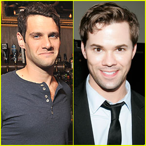Justin Bartha & Andrew Rannells: 'New Normal' Couple!