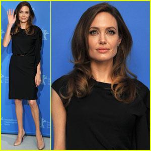 Angelina Jolie: 'Blood & Honey' Berlin Photo Call!