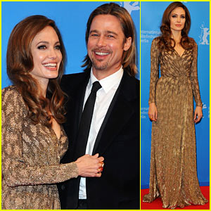 Angelina Jolie & Brad Pitt: 'Blood & Honey' Berlin Premiere!