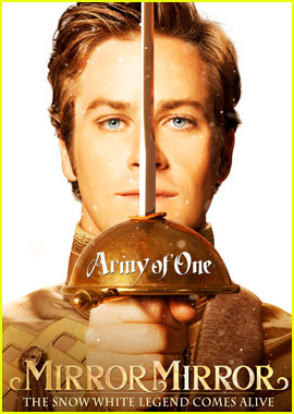 Armie Hammer: 'Mirror Mirror' Character Poster!