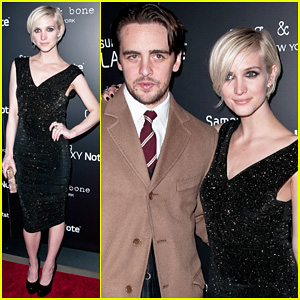 Ashlee Simpson & Vincent Piazza: Fashion Take Note Party!
