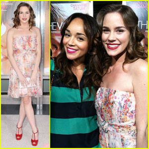 Christa B. Allen & Ashley Madekwe: 'The Vow' Premiere Pair!
