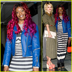 Azealia Banks: TopShop Show with Pixie Geldof!