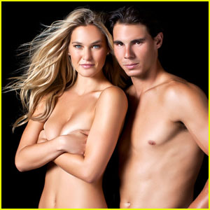 Bar Refaeli & Rafael Nadal: Shirtless for 'Sports Illustrated'!