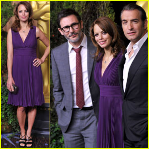 Berenice Bejo & Jean Dujardin: Academy Awards Nominations Luncheon