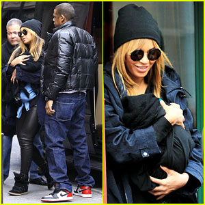 Beyonce & Jay-Z: Lunch with Blue Ivy!