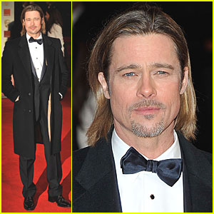 Brad Pitt - BAFTAs 2012 Red Carpet