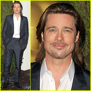 Brad Pitt: Academy Awards Nominations Luncheon