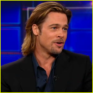 Brad Pitt: 'Daily Show' Interview!