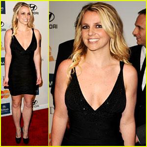 Britney Spears: Clive Davis Pre-Grammy Gala