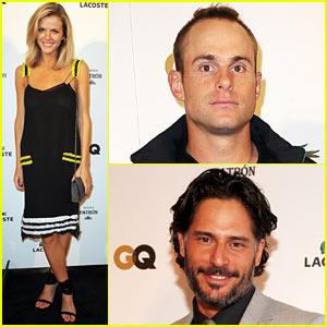 Brooklyn Decker: Super Bowl Bash with Andy Roddick!