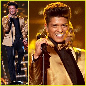 Bruno Mars' Grammys Performance - Watch Now!