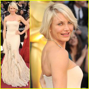 Cameron Diaz - Oscars 2012 Red Carpet