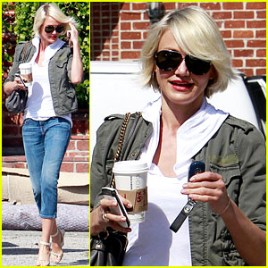 Cameron Diaz Preps for the Oscars