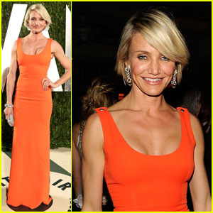 Cameron Diaz - Vanity Fair Oscar Party