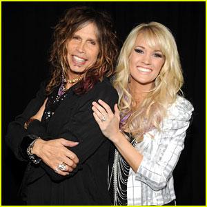 Carrie Underwood & Steven Tyler: CMT Fan Jam!
