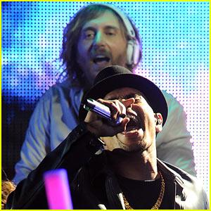 David Guetta & Chris Brown's Grammy Performance!