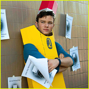 Chris Colfer: 'Struck by Lightning' Trailer!