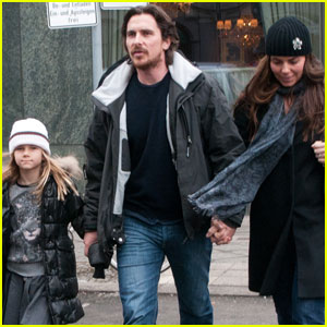 Christian Bale & Family: Berlin Bunch