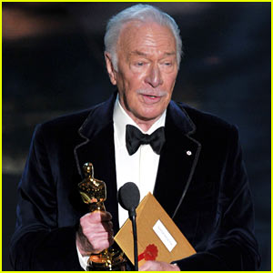Christopher Plummer Wins Oscars' Best Supporting Actor!