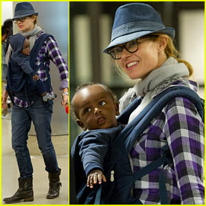 Connie Britton: Airport with Eyob!