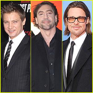 Brad Pitt, Javier Bardem, Jeremy Renner Up for 'Counselor' Villain Role