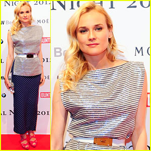 Diane Kruger: Festival Night Fabulous!