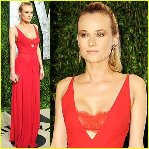 Diane Kruger - Vanity Fair Oscar Party