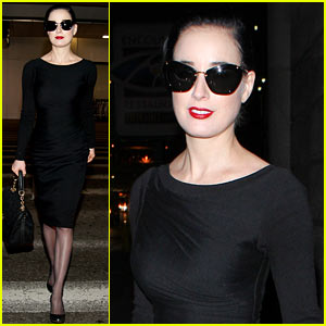 Dita Von Teese Flees To Los Angeles