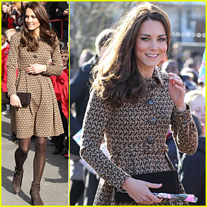 Duchess Kate: Rose Hill Primary School Visit