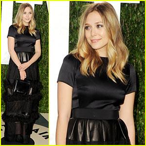Elizabeth Olsen - Vanity Fair Oscar Party!