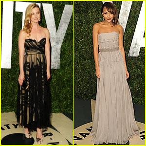 Emily VanCamp: Vanity Fair Oscar Party with Ashley Madekwe!