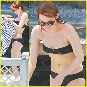 Emma Stone: Bikini Babe in Rio de Janeiro!